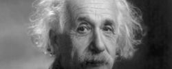 Albert Einstein is a revered symbol for the religious side of science