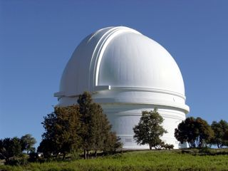 The Hale Telescope at the Mount Palomar Observatory