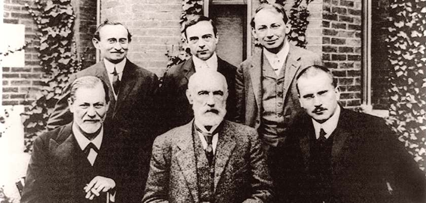 Hall, Freud and Jung Group Photo, 1909