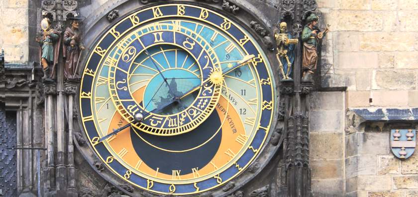 Atrological clock, Prague