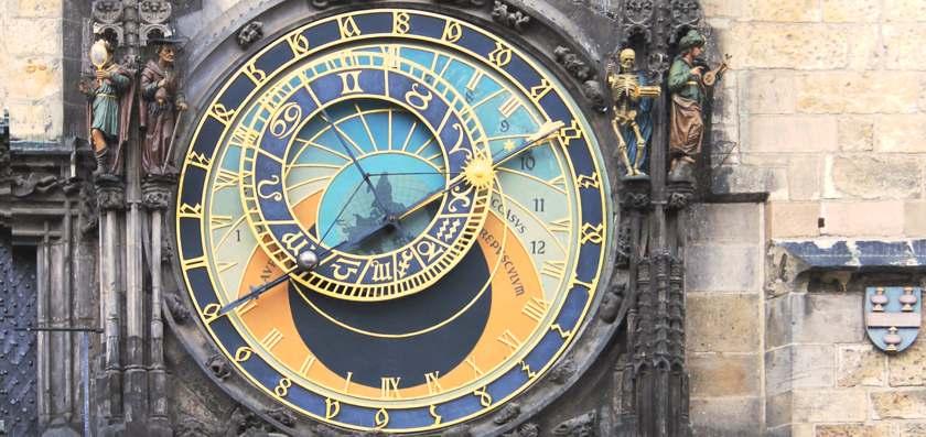 Atrological clock, Prague