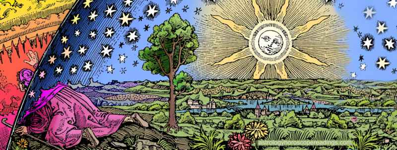 Astrology and Free Will. Illustration copyright © 2010 Roman Oleh Yaworsky