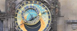 Astrological Clock, Prague. An image to illustrate how astrology works, by Roman Oleh Yaworsky
