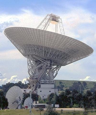 Radio telescopes are actively engaged in the SETI program that searches for extraterrestrial life.